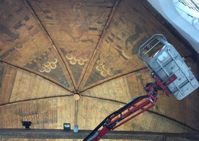Digitale reconstructie plafondschilderingen