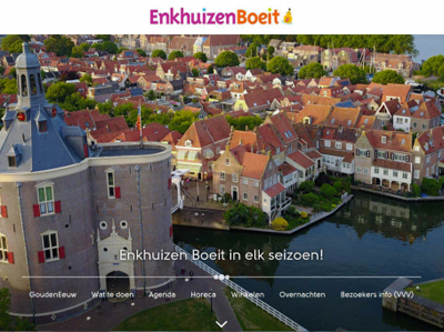 Coronapot: website Enkhuizen Boeit